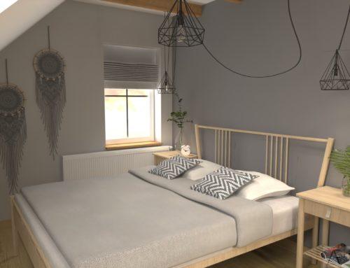 Sypialnia – styl Hygge