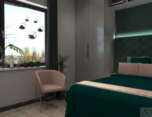 Sypialnia – styl nowoczesny