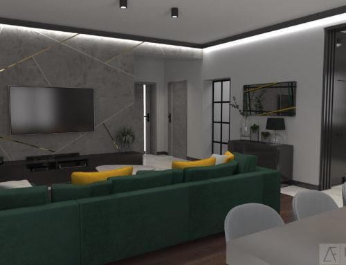 Dom – w stylu nowoczesnym